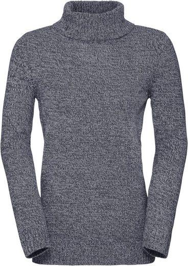 Classic Basics Pullover mit gerippten Abschlüssen