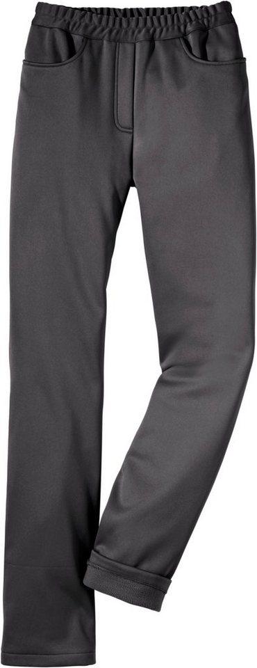 Classic Basics Softshell-Hose mit Rundum-Dehnbund   Sportbekleidung > Sporthosen > Softshellhosen   Grau   Classic Basics