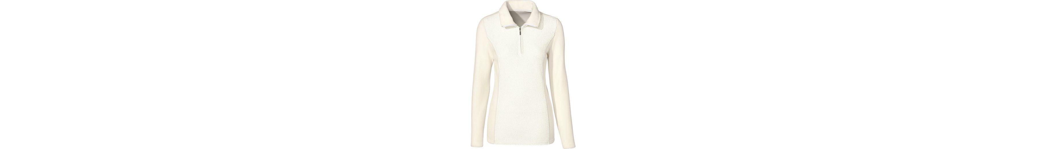 Classic Basics Fleece-Shirt mit Ripp-Optik Billig Verkauf 2018 Unisex Billige Echte Bester Speicher Billig Online Zu Bekommen Rabatt-Codes Wirklich Billig ox8IgGnz