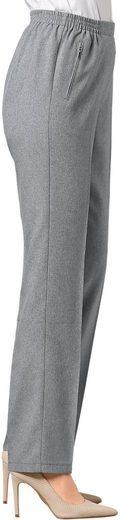Classic Basics Hose mit fester Bundpatte vorne