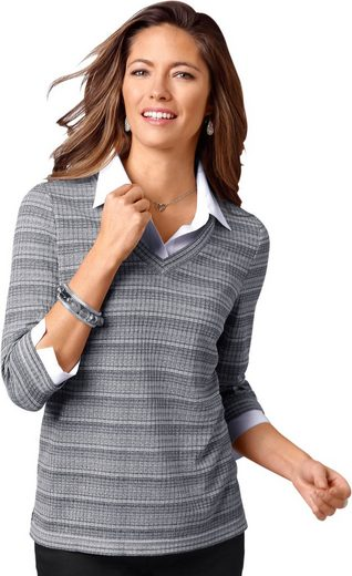 Classic Basics Shirt in 2-in-1-Optik