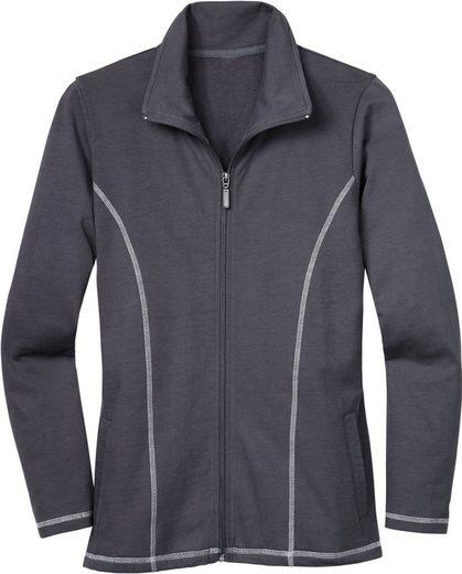 Classic Basics Sweat Jacket In Feel-good Quality
