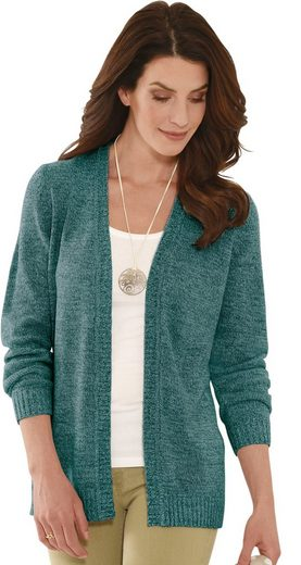 Classic Basics Strickjacke in offener Form