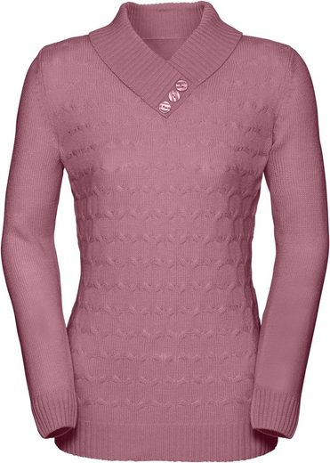 Classic Basics Pullover im klassischen Strickmuster