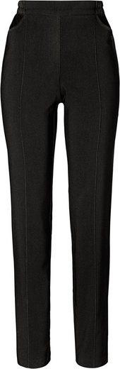 Classic Basics Hose mit dekorativen Biesen vorne