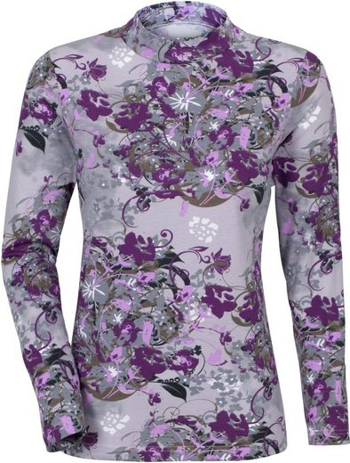 Classic Shirt mit Blumendruck