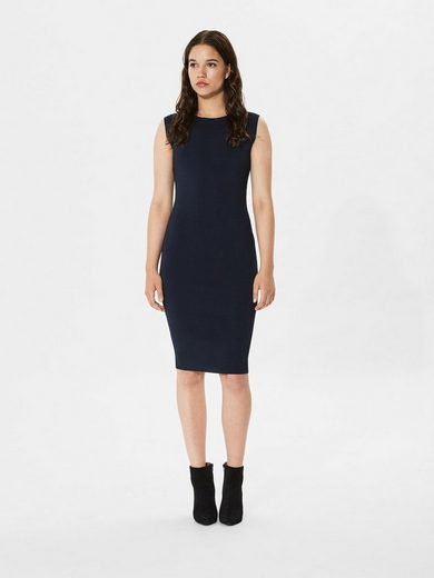Selected Femme Slim-fit Dress With Short Sleeves