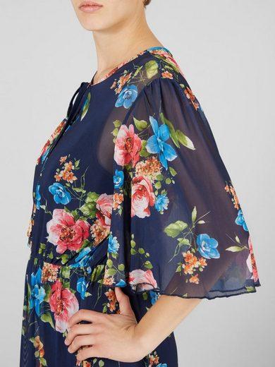 Y.A.S Blumen-Mesh- Kleid