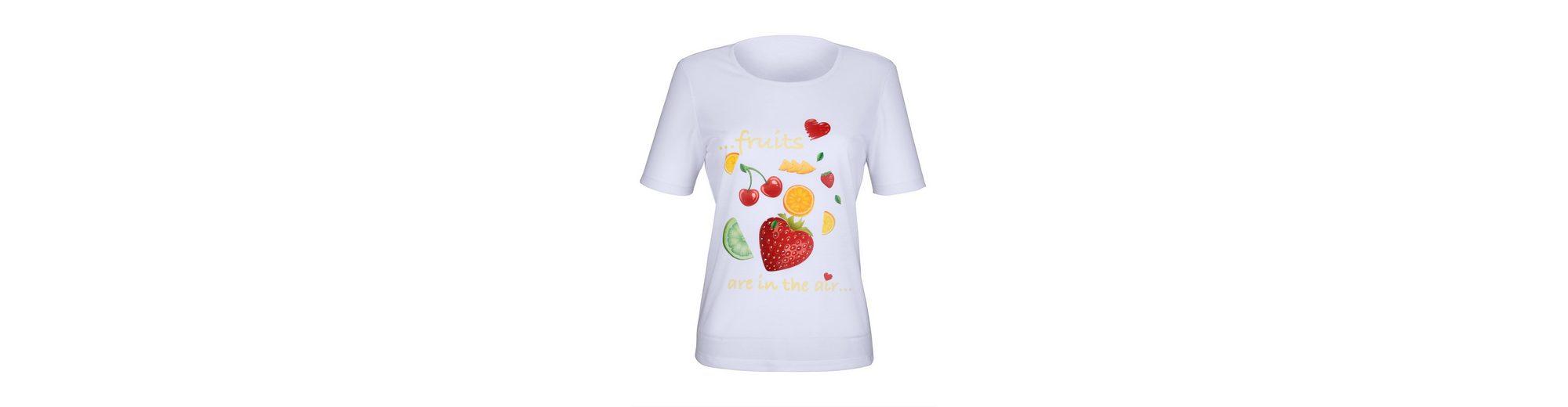 Dress In Shirt mit sommerlichem Früchtedruck Modisch Günstiger Preis Billig Billig Auslass Günstigsten Preis Zuverlässig Günstig Kaufen Niedrige Versandkosten f483YJQ1E