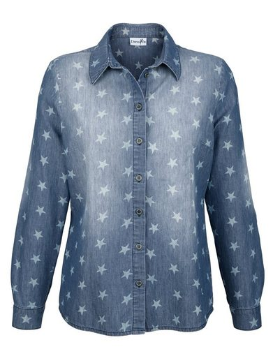 Dress In Jean Blouse With Sternendurck