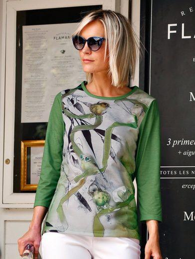 Dress In Shirt mit dekorativem Druckdessin