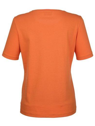 Dress In Shirt mit Aufduck vorne
