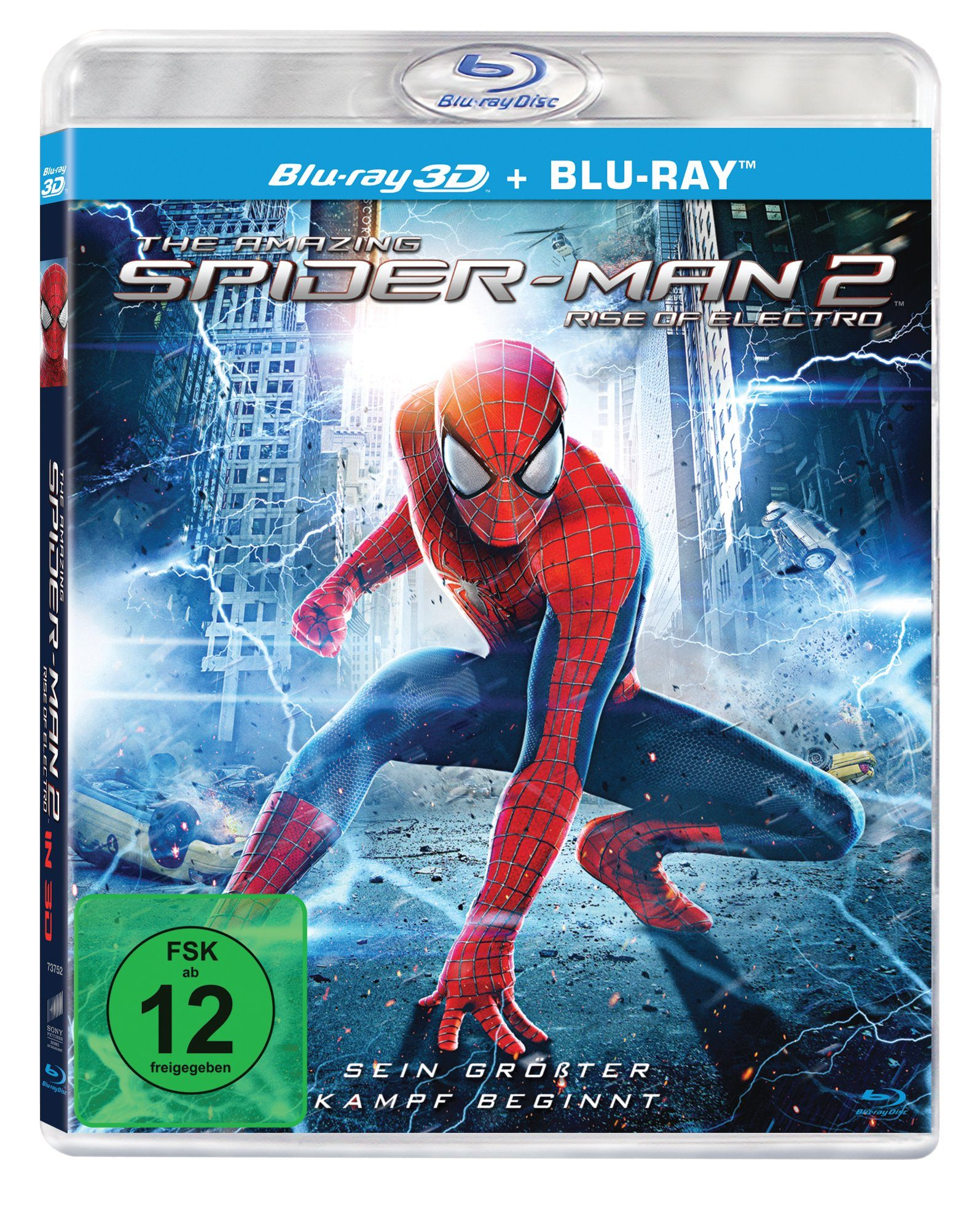 Sony Pictures Blu-ray (3D + 2D Version, 2 Discs) »The Amazing Spider-Man 2: Rise of Electro«