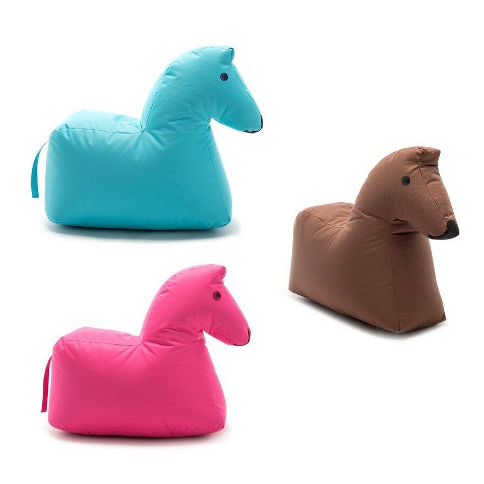 sitting bull sitzsack pferd lotte happy zoo braun otto. Black Bedroom Furniture Sets. Home Design Ideas
