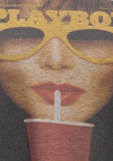 Sweat-shirt Playboy Avec Impression Avant Tendance