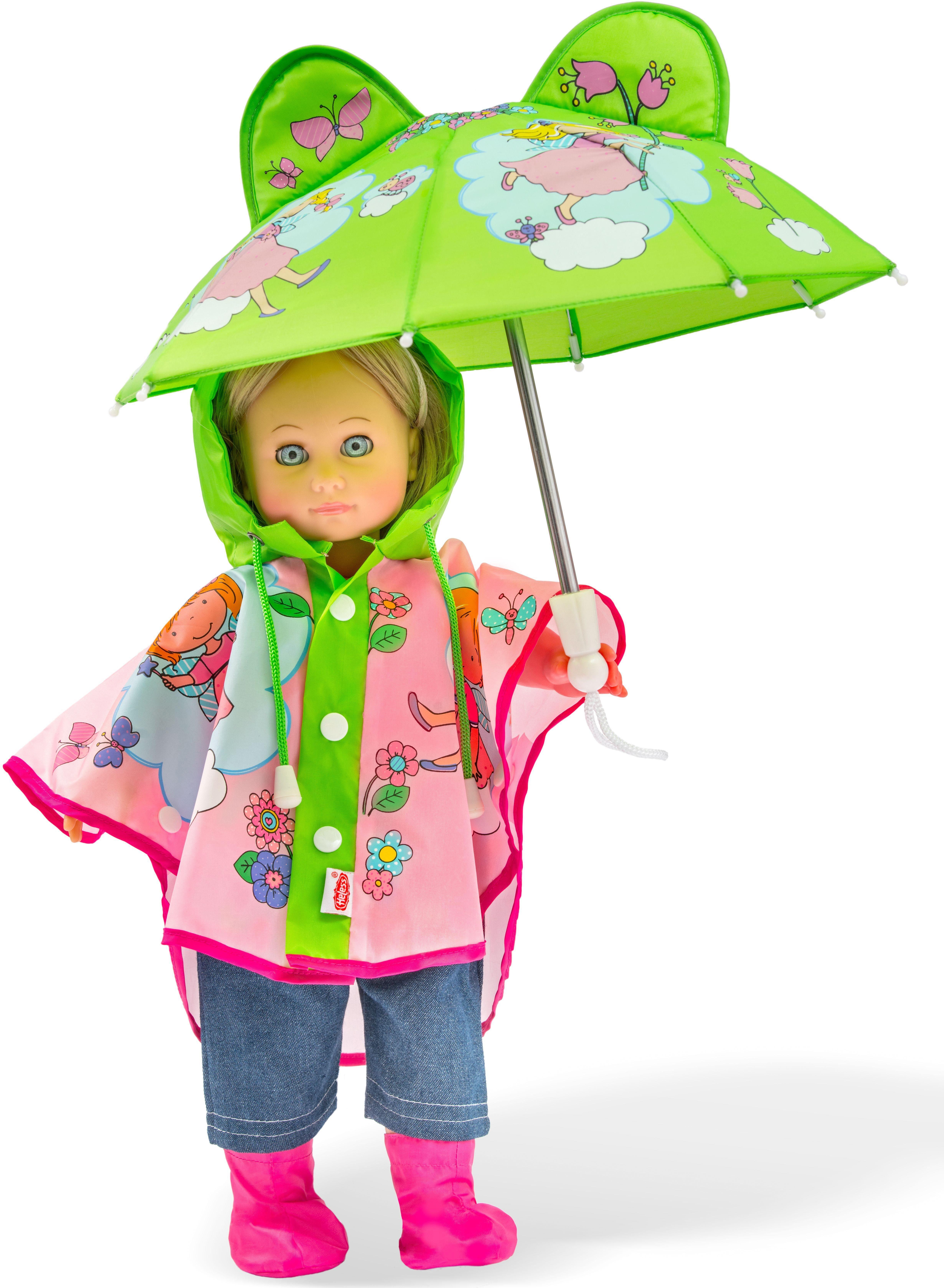 Heless® Puppenkleidung, »Regen-Set, Gr. 35-45 cm«