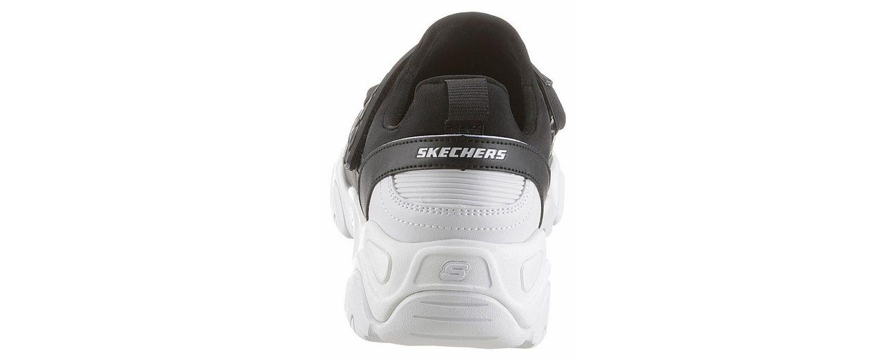 Skechers D'Lites 2 Fast Look Slipper, mit Klettverschluss