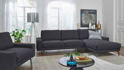 hülsta sofa Ecksofa »hs.450«, mit kubischer Armlehne, Breite 294 cm
