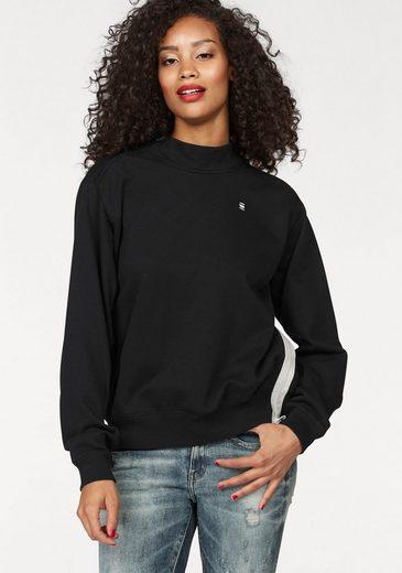 G-Star RAW Sweatshirt Ustra, mit seitlichen Reißverschluss am Kragen