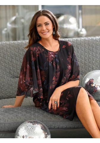 MIAMODA Suknelė su elegantiškas Blumendruck