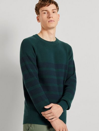 TOM TAILOR Denim Strickpullover »Gestreifter Strickpullover«