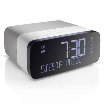 Pure »Siesta Rise« Digitalradio (DAB) (Digitalradio (DAB), Digitalradio, DAB+ und UKW-Radiowecker, Bluetooth, USB, AUX, Sleep-Timer, Weckfunktion, CrystalVue Display, 20 Senderspeicherplätze)