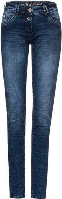 Hosen - Cecil Boyfriend Jeans »Scarlett« in Used Waschung ›  - Onlineshop OTTO