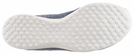 Skechers Microburst Beauty Blossoms Slipper, mit Blütenstickerei an der Ferse