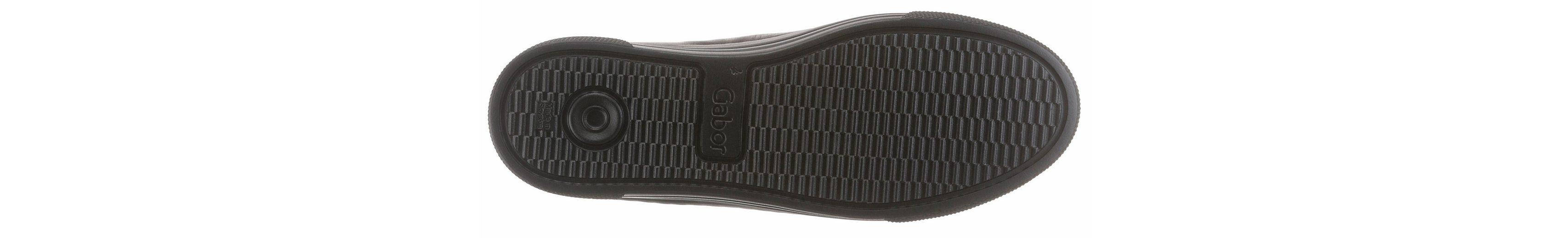 Gabor Sneaker, mit Schnürung und Reißverschluss
