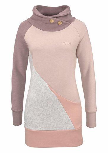 Mazine Long Sweatshirt Maud Turtle Neck, High Collar