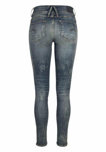 G-Star RAW Skinny-fit-Jeans Lynn, mit Destroyed Effekten