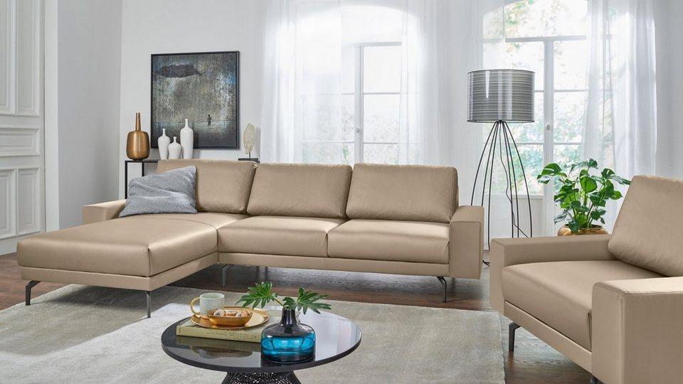 Hülsta Sofa Polsterecke Hs450 Mit Kubischer Armlehne Breite 274