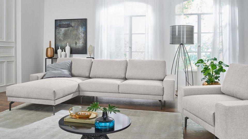 hülsta sofa Polsterecke »hs.450« mit kubischer Armlehne, Breite 274 ...