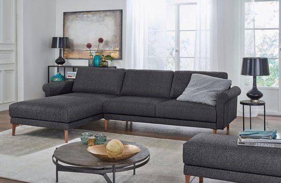 hülsta sofa Ecksofa »hs.450«, im modernen Landhausstil, Breite 262 cm