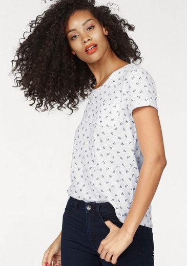 Tom Tailor Denim T-Shirt, im Allover-Print