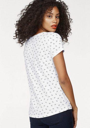 Tom Tailor Denim T-Shirt, im Allover-Print