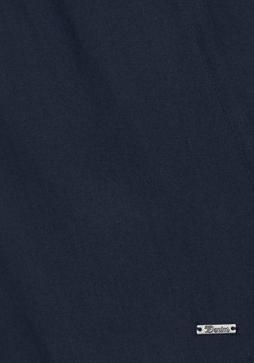 Tom Tailor Denim Blusentop, Cutout Tunic-with