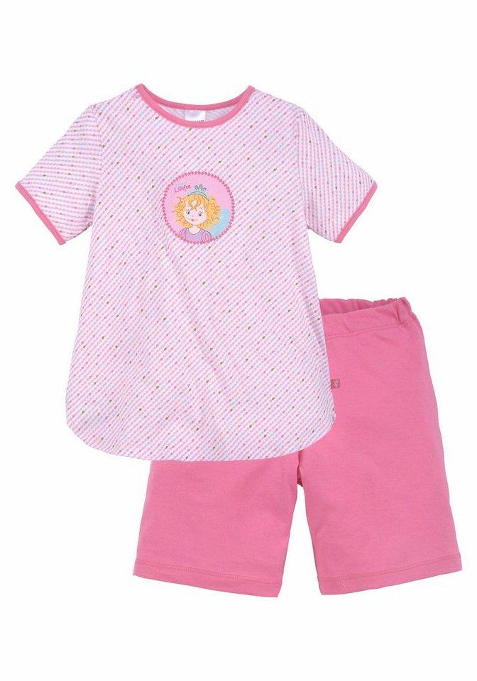 fd76661dd2286 Prinzessin Lillifee Mädchen Pyjama kurz mit Print