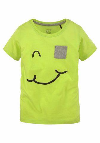SCHIESSER Marškinėliai »unisex« su Face- raštas