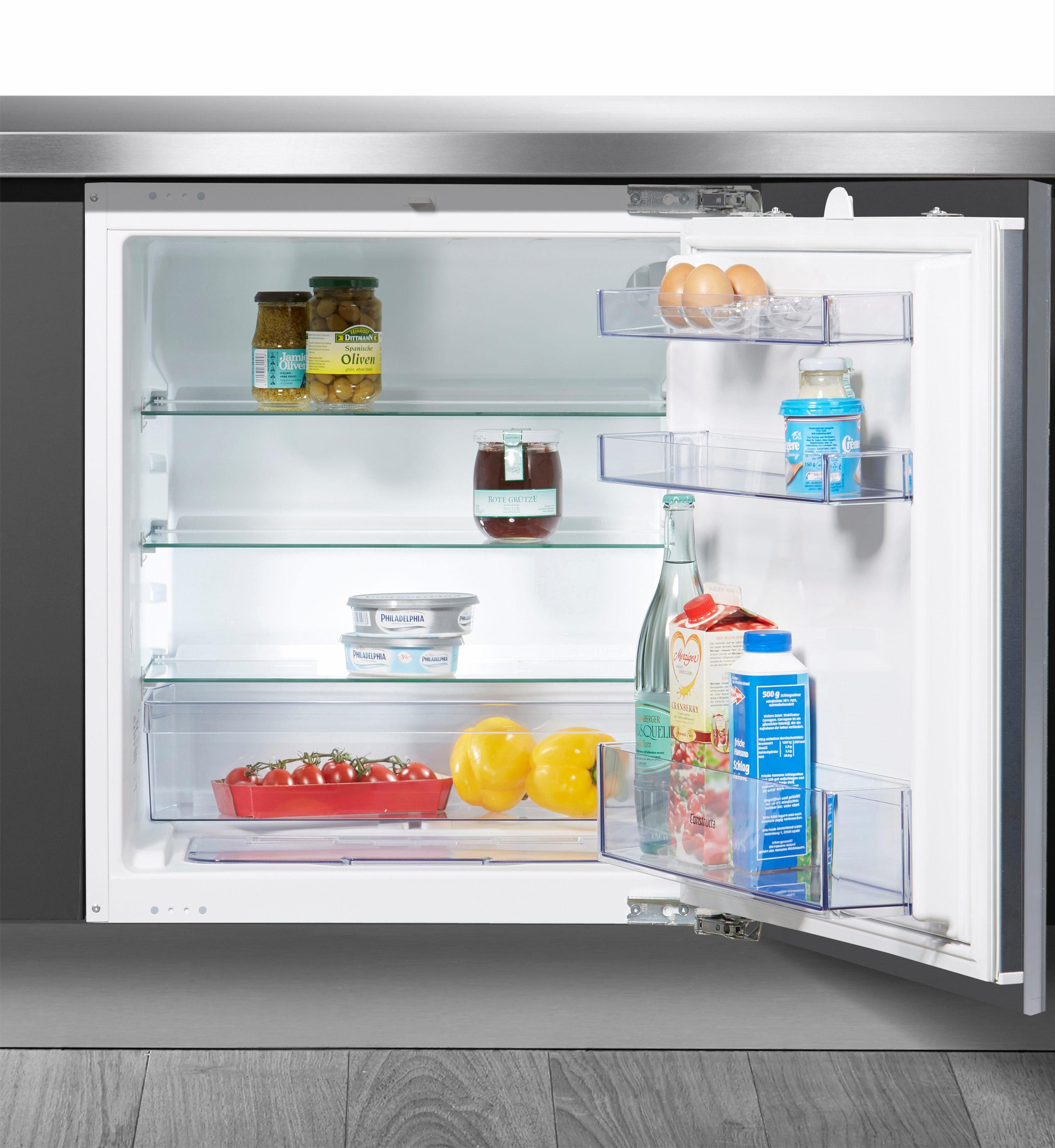 Constructa Einbaukühlschrank CK60144, 82,0 cm hoch, 59,8 cm breit, A+, 82 cm hoch