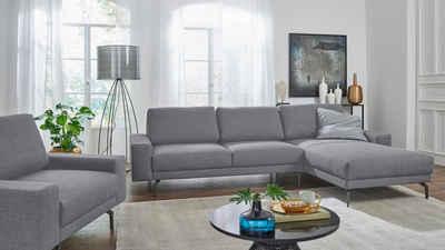hülsta sofa Ecksofa »hs.450«, mit kubischer Armlehne, Breite 274 cm