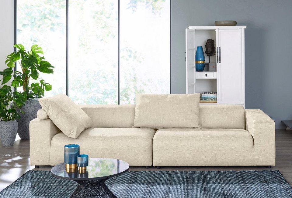 hülsta sofa 3-Sitzer Sofa »hs. 432« wahlweise in Stoff oder Leder ...