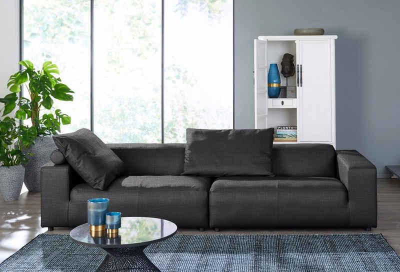 hülsta sofa 3-Sitzer »hs. 432«, wahlweise in Stoff oder Leder, mit niedrigem Rücken