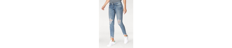 LTB Skinny-fit-Jeans MINA, mit ausgefranstem Saum
