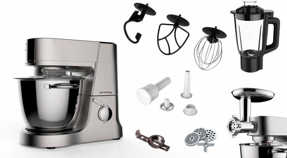 Privileg Multifunktions Kuchenmaschine Lw6830g1 1200 W 4 L