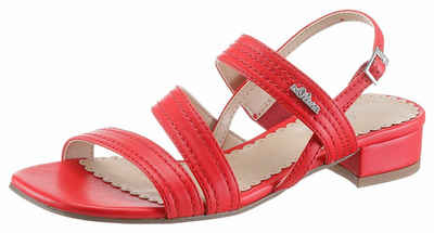 d1c2adbf6890 s.Oliver RED LABEL Riemchensandalette in klassischer Form