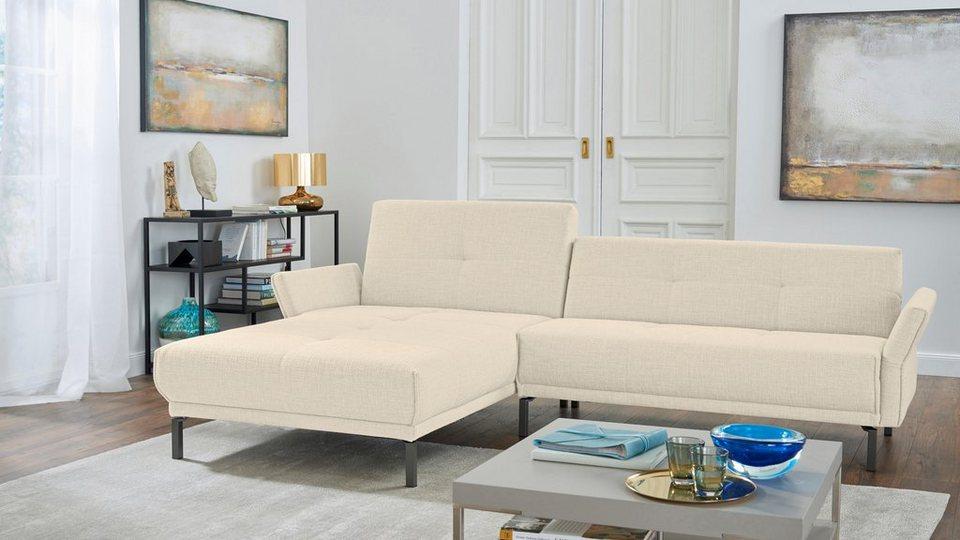 Hulsta Sofa Polsterecke Hs 410 Mit Verstellbaren Arm Und
