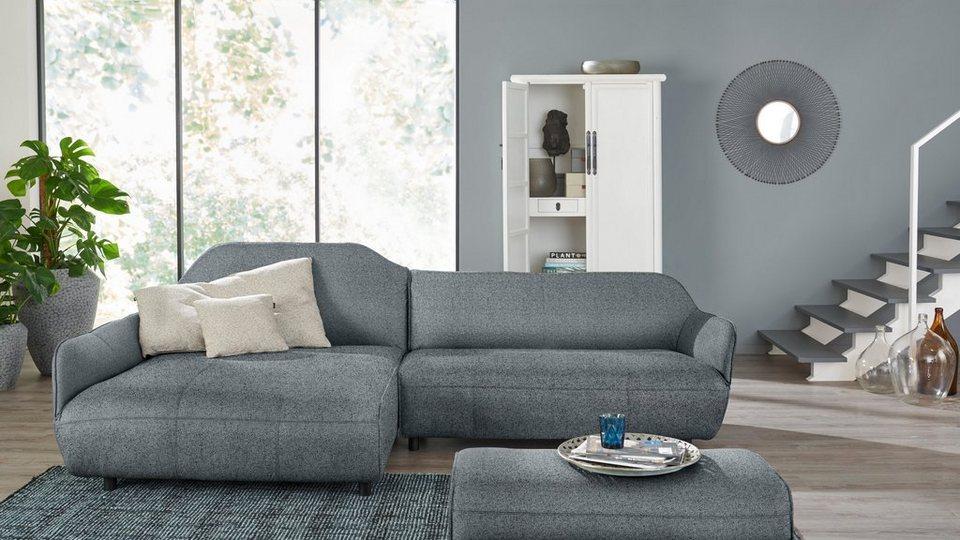 h lsta sofa polsterecke designsofa wahlweise in stoff oder leder online kaufen otto. Black Bedroom Furniture Sets. Home Design Ideas