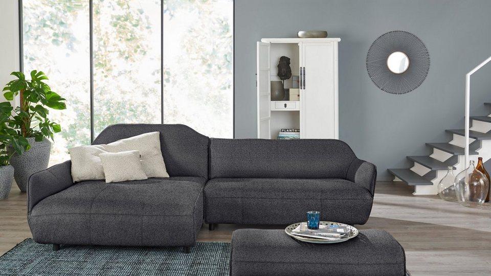 hülsta sofa Polsterecke »hs.480«, Designsofa wahlweise in Stoff ...