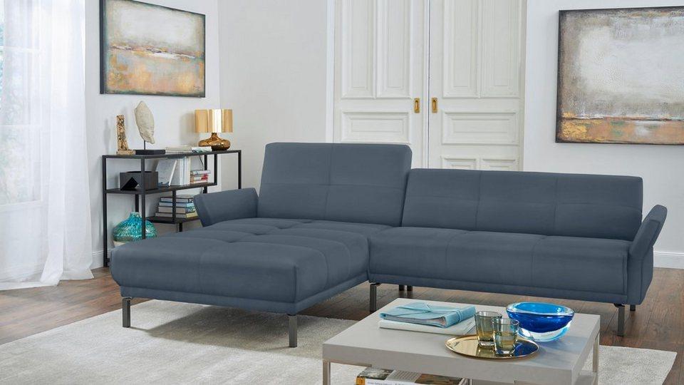 Hülsta Sofa Polsterecke Hs410 Mit Verstellbaren Arm Und